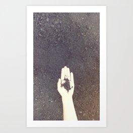 Handfull Art Print