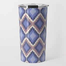 Ikat Pattern Travel Mug