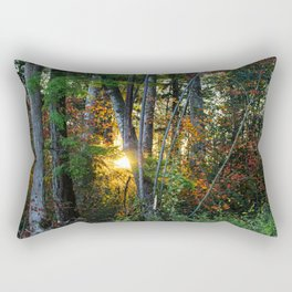 Bellingham, WA Peaking Sun Rectangular Pillow