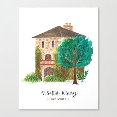 V stattui winery Canvas Print