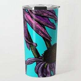 Echinacea - cone flower Travel Mug