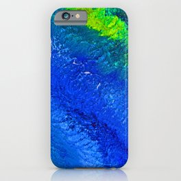"""""""Riptide #4"""" Oil Painting iPhone Case"""