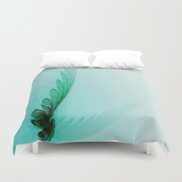 With Brave Wings She Flies Duvet Cover
