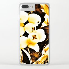 Mountain Apple Clear iPhone Case