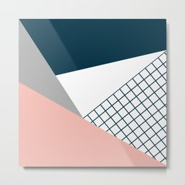 Colorful geometry 16 Metal Print