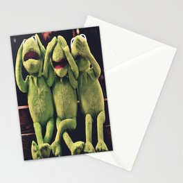 Kermit - Green Frog Stationery Cards