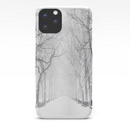 Snowy Park iPhone Case