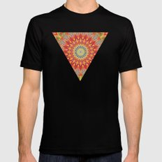 Mind Bending Trip Black MEDIUM Mens Fitted Tee