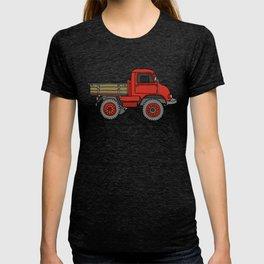 Red truck / transporter T-shirt