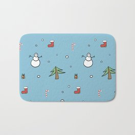 Christmas spirit Bath Mat
