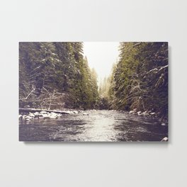 Divinity on the Salmon River Metal Print