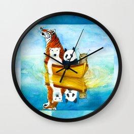 Herbert at Sea Wall Clock