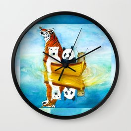 Herbert at Sea Wall Clock