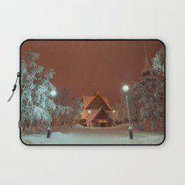 Kiruna Church In the Winter Snow Laptop Sleeve