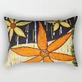 Flower Time Rectangular Pillow
