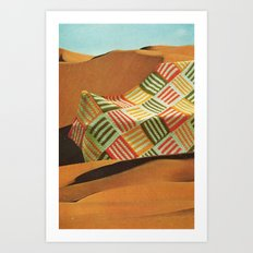 the shifting sands Art Print