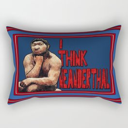 Neanderthought Rectangular Pillow