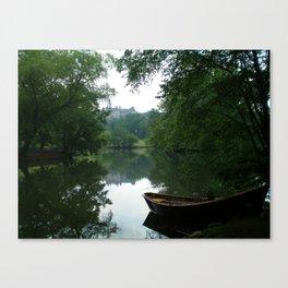 Biltmore House Boat  Canvas Print