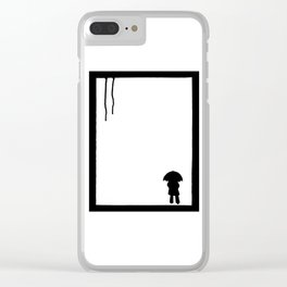 Drips Clear iPhone Case