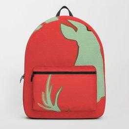 Stag Design Red Backpack