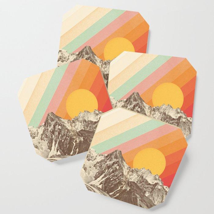 Mountainscape 1 Coaster