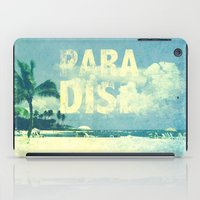 paradise iPad Cases featuring Paradise by M Studio