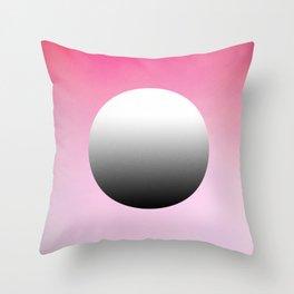 The Button Throw Pillow