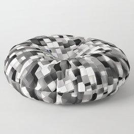 Blocked Space Floor Pillow