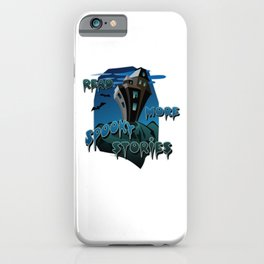 Read More Spooky Stories iPhone Case