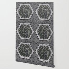 Junction - hexagon graphic Wallpaper
