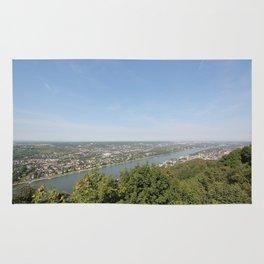 Scenic Rhine Valley Rug