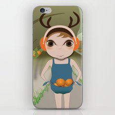 Deery Fairy and Oranges iPhone & iPod Skin
