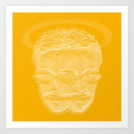 Snowden Angel Art Print