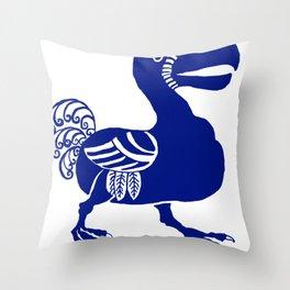 """William De Morgan """"Dodo bird"""" 2. Throw Pillow"""