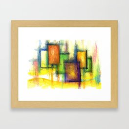 Winter Turns to Spring Framed Art Print
