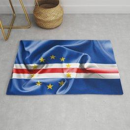 Cape Verde Flag Rug