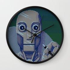 Pixelbot Wall Clock