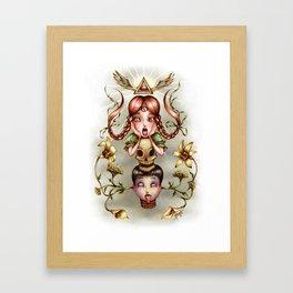 Lilium Framed Art Print