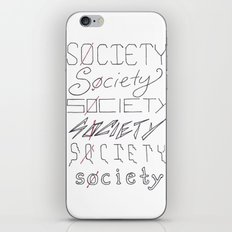 Six Societies iPhone & iPod Skin