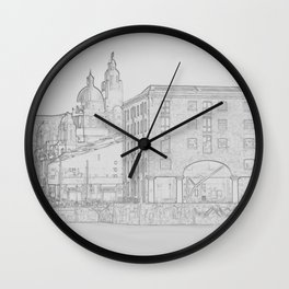 Three Graces Wall Clock