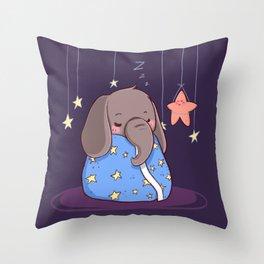 Good night friends Throw Pillow