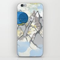 led zeppelin iPhone & iPod Skins featuring Zeppelin by elambonebright