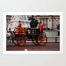 The Royal Carriage 4 Art Print