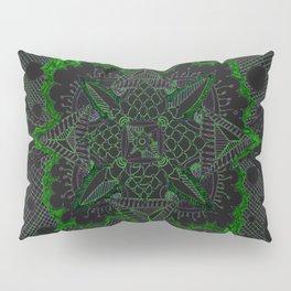 Divine Intention 5: Solar Green Pillow Sham