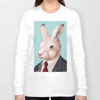 rabbit Long Sleeve T-shirts featuring Rabbit by Animal Crew