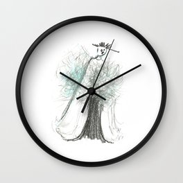 The Nightwatchman Wall Clock