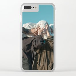 TRAPPED BODIES Clear iPhone Case