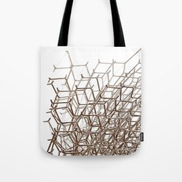Wireframe  Tote Bag