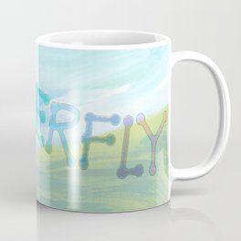 """ Butterfly In The Clearing "" Coffee Mug"