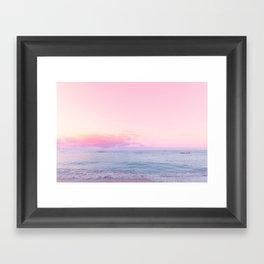 tropico ver.pink Framed Art Print